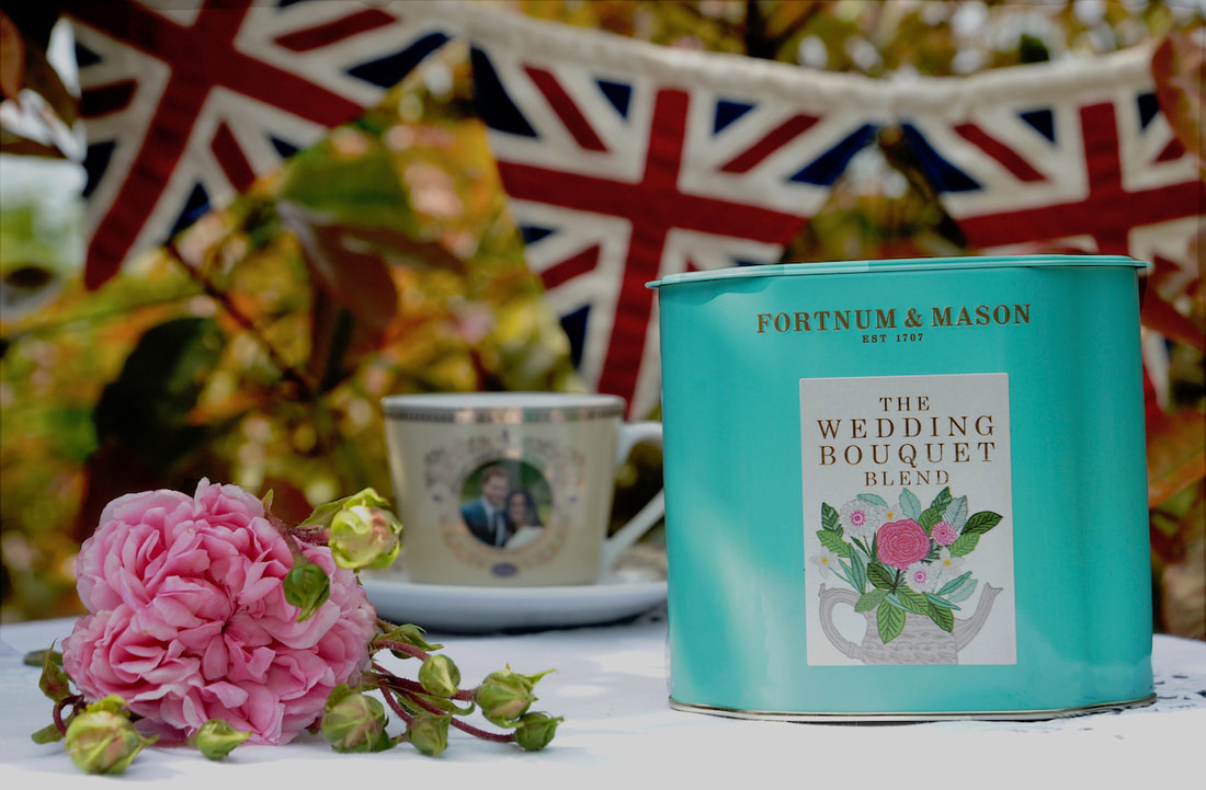 Miss Windsor's Delectables - Review of Fortnum & Mason - The Wedding Bouquet Blend Tea! To commemorate the royal marriage of Prince Harry & Meghan Markle - Duke & Duchess of Sussex!