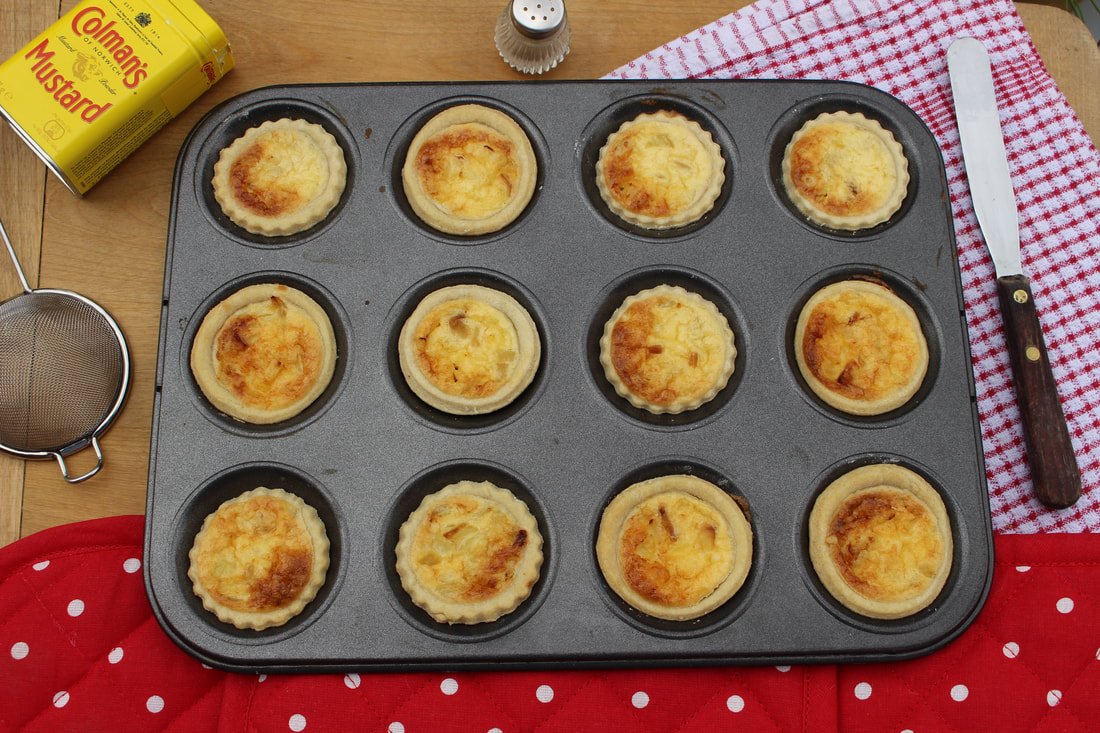 Mrs Simkins: Recipe for Mini Quiches