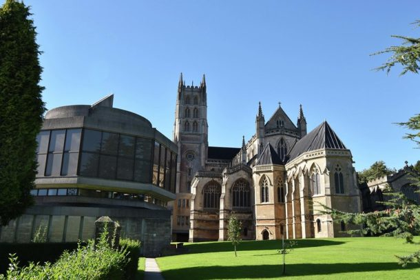 Miss Windsor's Delectables - photo of Downside Abbey, Radstock, Somerset, England