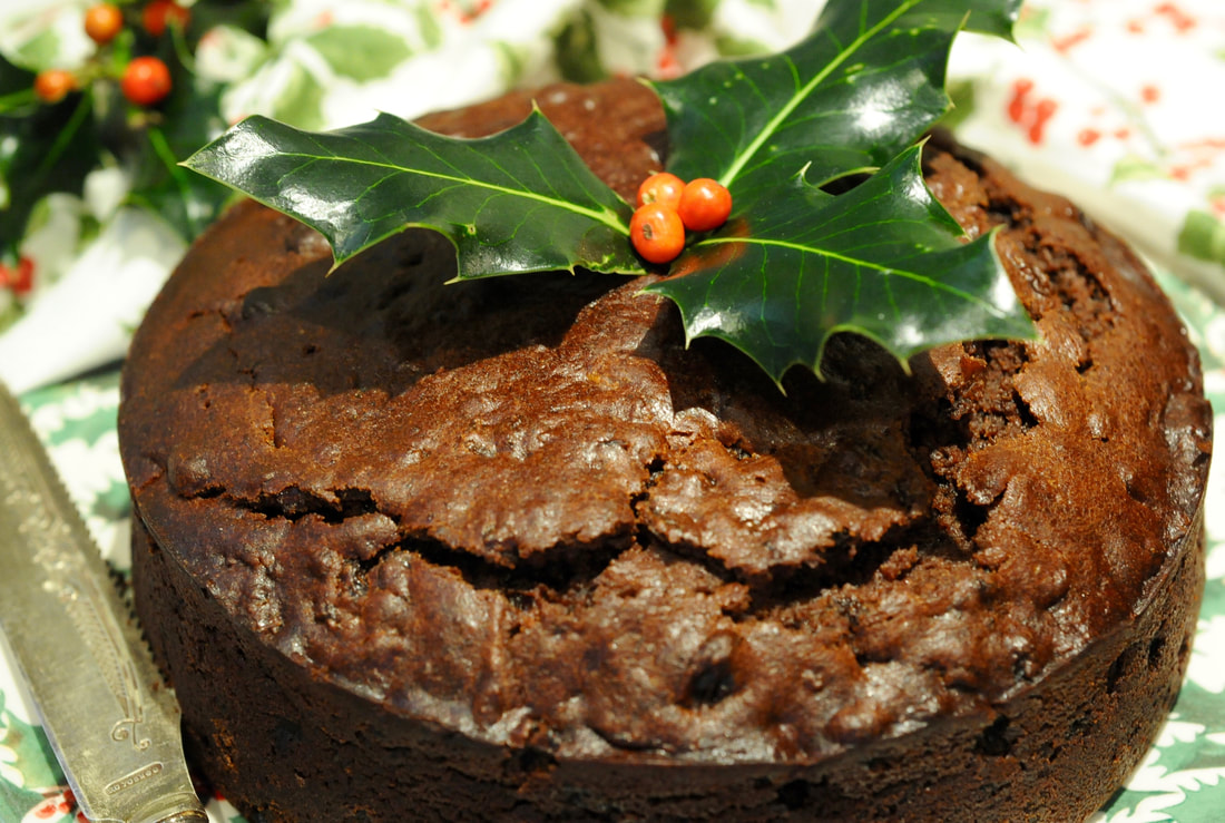 Miss Windsor's Quick & Easy Victorian Boiled Fruitcake - featuring Grandmother Josie