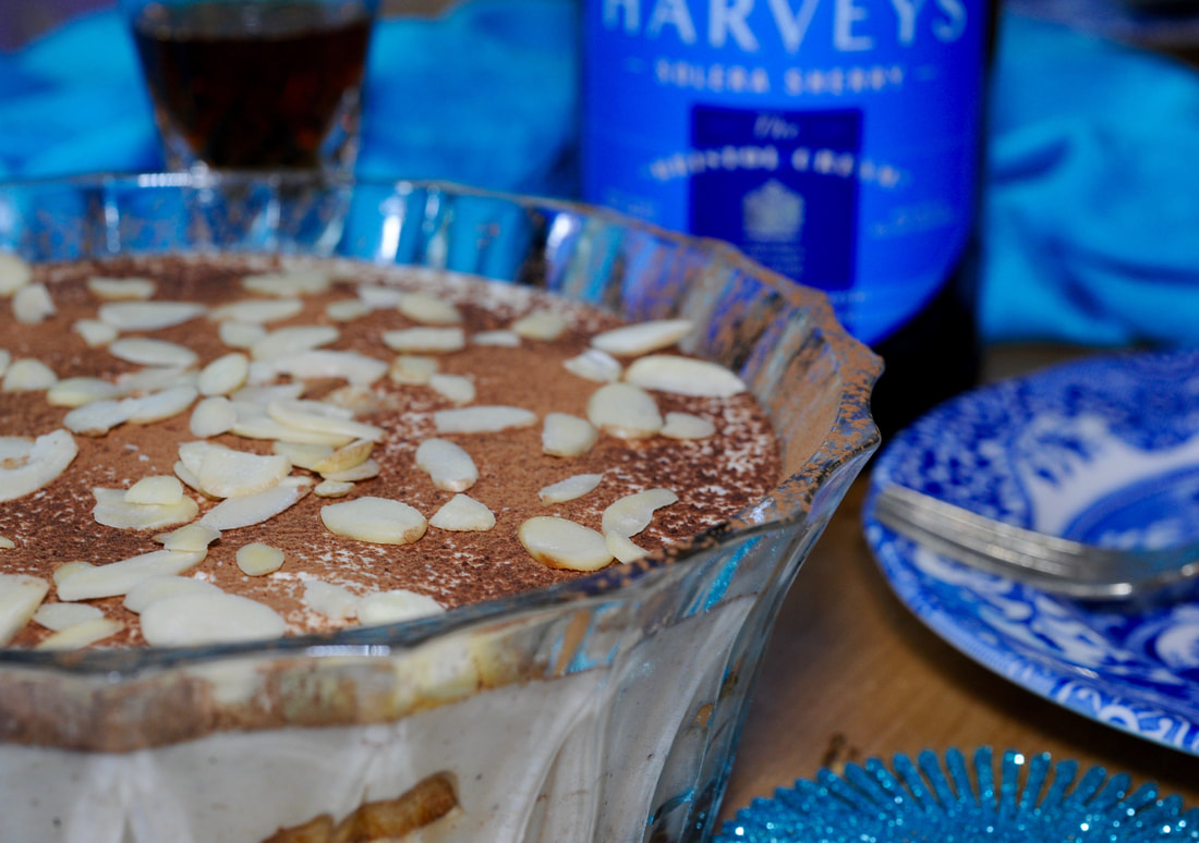 Miss Windsor's Festive Sherry & Spice Tiramisu Recipe - with Harvey's Bristol Cream Sherry!
