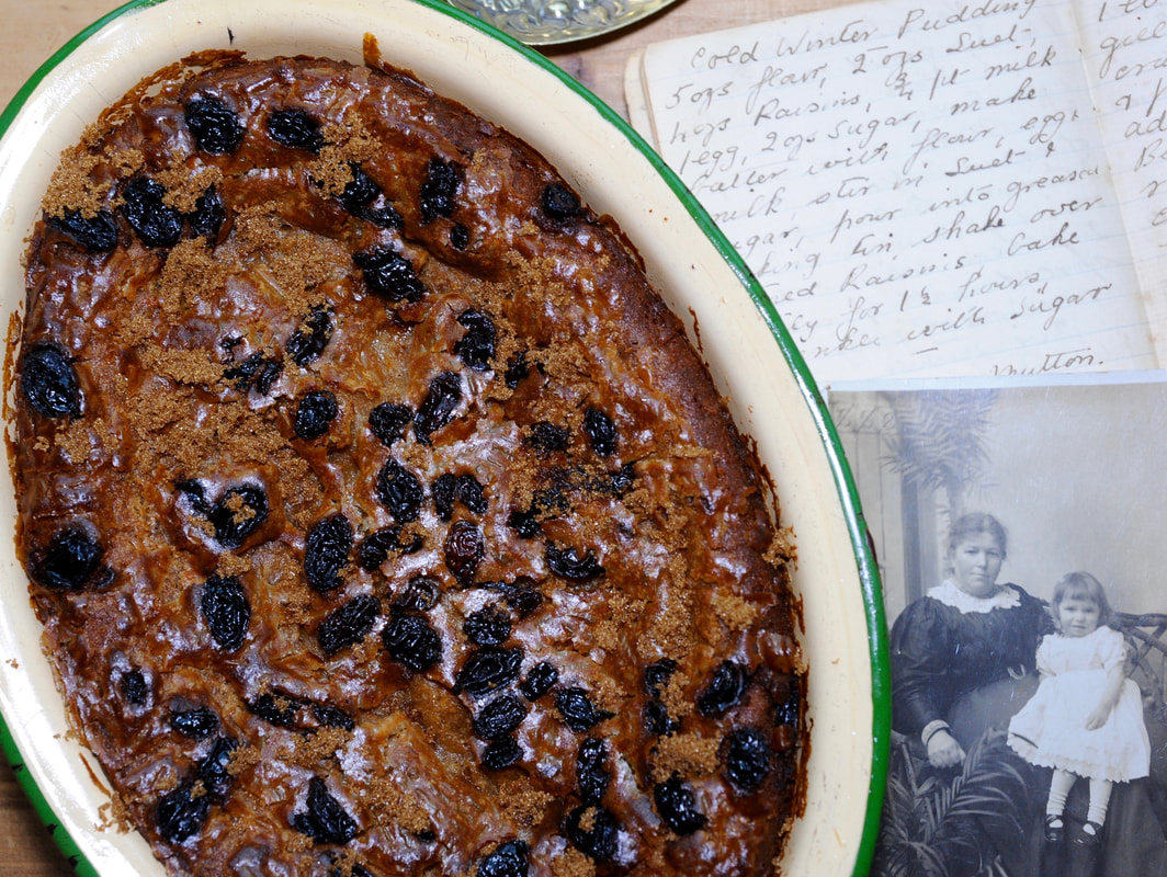 Miss Windsor: my great great Grandma Georgina's Cold Winter Pudding recipe!