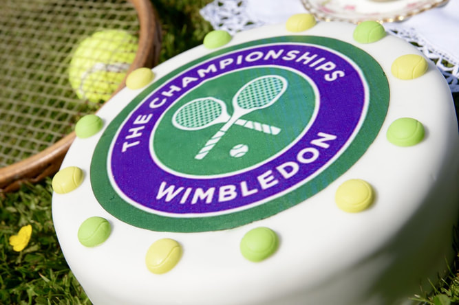Miss Windsor: re-creates Mrs Beeton's Tennis Cake recipe for The Championships, Wimbledon!
