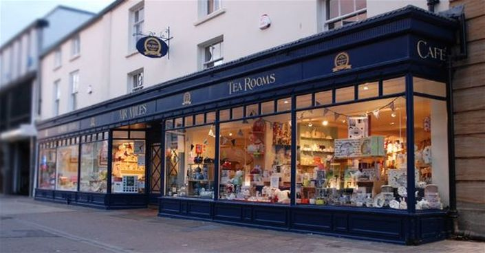 Miss Windsor's Delectables - Mr Miles Tearooms, Taunton, Somerset.