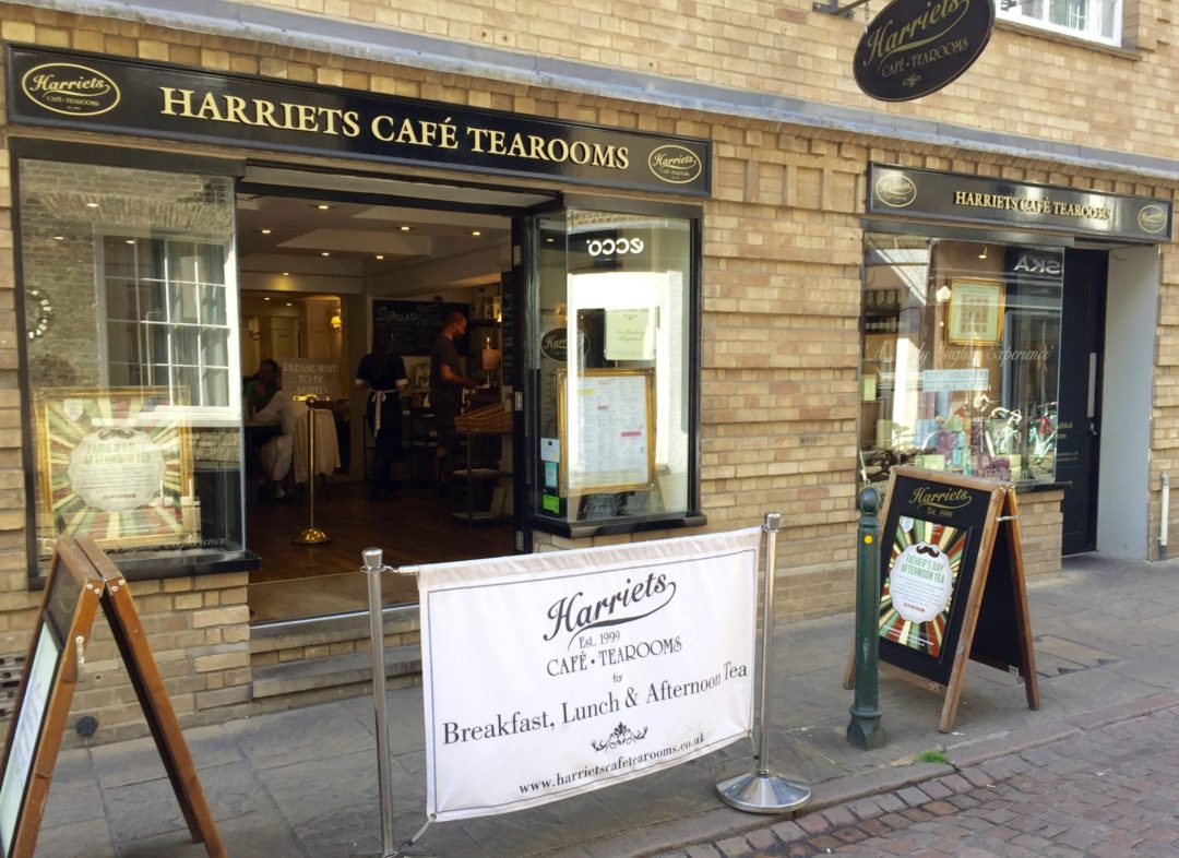 Miss Windsor's Delectables - Afternoon Tea at Harriet's Café Tearooms, Cambridge.