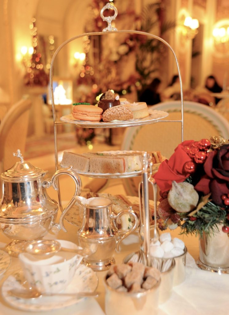 Miss Windsor's Delectables - Christmas Afternoon Tea at The Ritz, London.