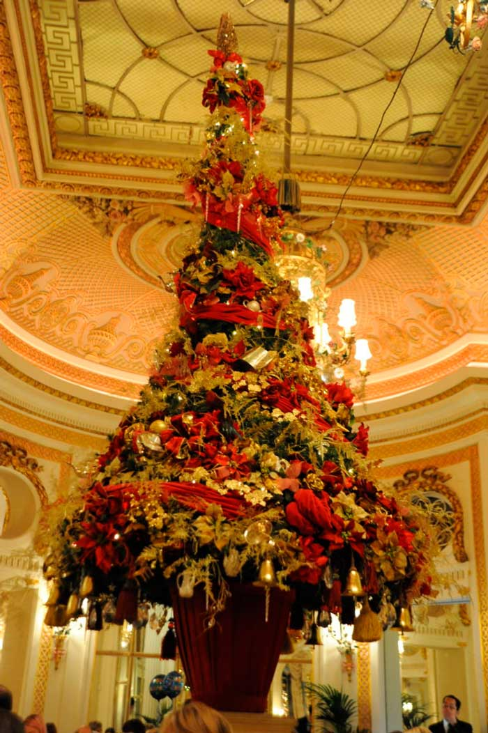 Miss Windsor's Delectables - The Palm Court - Christmas Afternoon Tea at The Ritz, London.