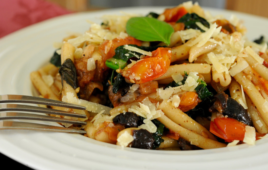 Recipe:Miss Windsor's Italian Inspired Cherry Tomato Pasta!