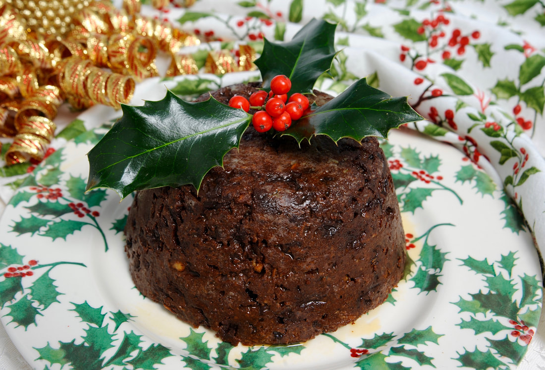 Miss Windsor: recipe - based on Mrs Beeton's Traditional British Christmas Pudding!