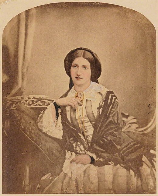 Miss Windsor's Delectables - photo of Isabella Mary Mayson - circa 1854