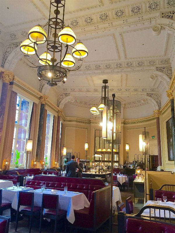 Miss Windsor's Delectables - review of The Gilbert Scott, The St Pancras Renaissance Hotel, London!
