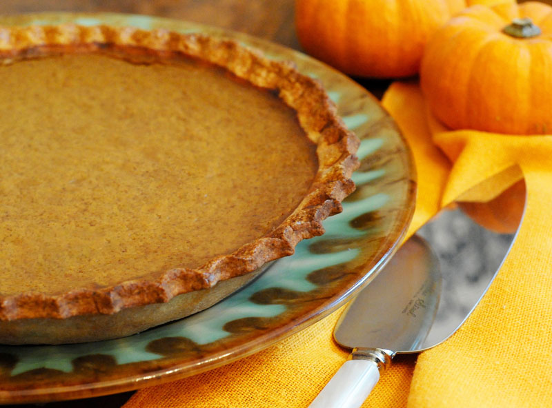 Miss Windsor's Delectables - Fannie Farmer's Pumpkin Pie - recipe from The Boston Cooking-School Cookery Book