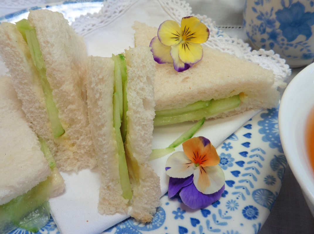 Miss Windsor presents: Mrs Simkins Delicious Dainty Tea-Time Sandwiches