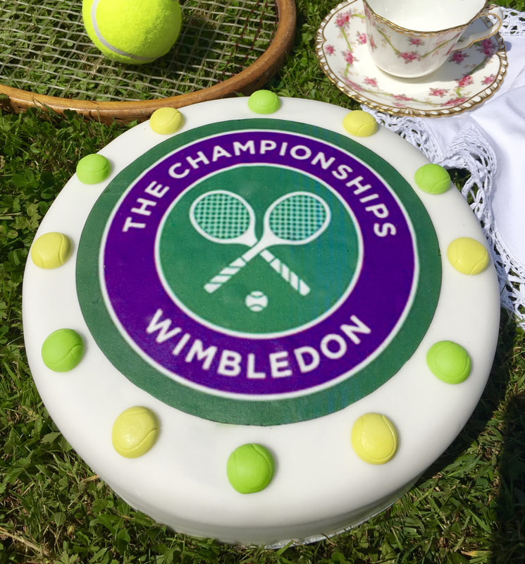 Miss Windsor: re-creates Mrs Beeton's Tennis Cake recipe - for The Championships, Wimbledon!